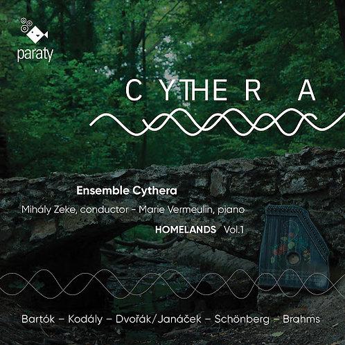 Homelands vol1 Ensemble Cythera Mihaly Zeke-Marie Vermeulin