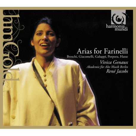 Arias for Farinelli Vivica Genaux