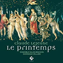 Claude Lejeune Le Printemps Ensemble Binchois