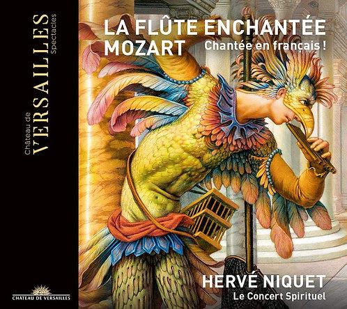 Hervé Niquet Le Concert Spirituel Mozart La Flûte Enchantée en français
