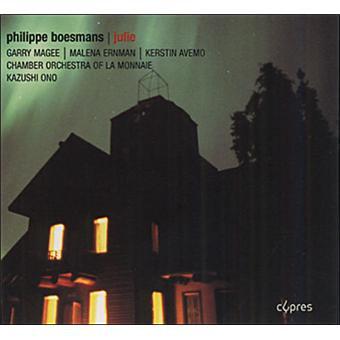 Philippe Boesmans Julie Chamber OrchestraLa Monnaie Kazuchi Ono