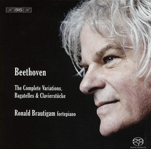Beethoven the Complete Variations Bagatelles & Klavierstücke Ronald Brautigam Fo