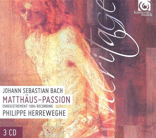 JS Bach Matthaus-Passion Philippe Herreweghe