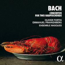 JS BACH Olivier Fortin Ens Masques concertos 2 clavecins
