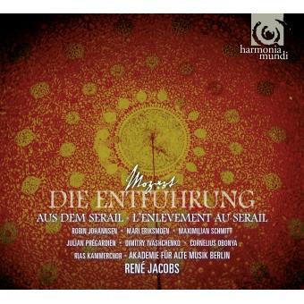 René Jacobs Mozart Enlèvement au Sérail Akademie forAlte Music Berlin