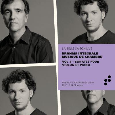 Brahms Intégrale Musique de Chambre Vol4 Sonates Violon/Piano