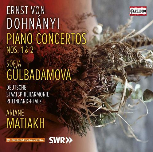Ernst Dohnanyi Piano concertos Sofja Gülbadamova Deutsche Staatsphil