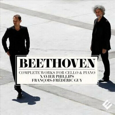 Beethoven François-Frédéric Guy/Xavier Phillips Complete Works for Cello & Piano