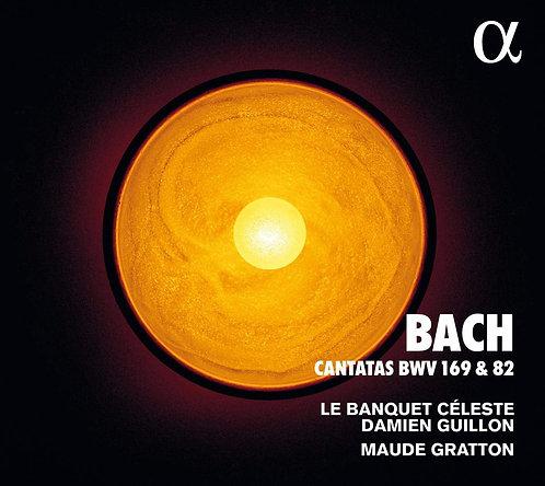 Bach Cantates Banquet Céleste Damien Guillon