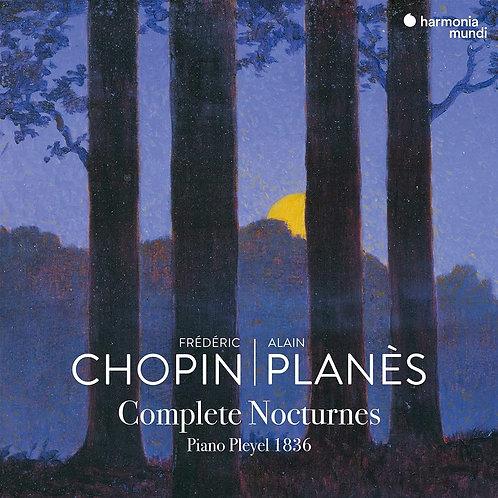 Chopin Nocturnes intégrale Alain Planès