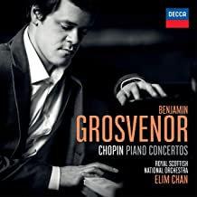 Benjamin Grosvenor- CHOPIN PIANO CONCERTOS