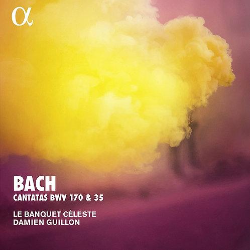Bach Cantates Damien Guillon Banquet céleste