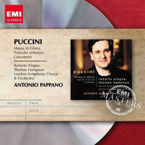 Puccini Missa de Gloria Antonio Pappano
