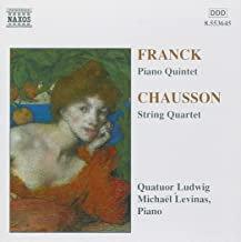 Franck, Chausson Quatuor Ludwig