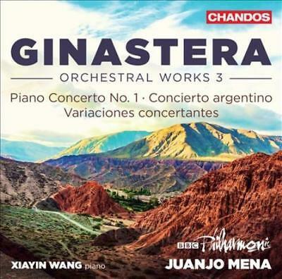 Ginastera  Orchestral Works vol3 BBC Philharmonic Juanjo Mena-Xiayin Wang Piano