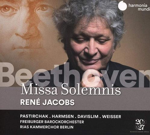 Beethoven Missa Solemnis René Jacobs Freiburger Barockorchester Rias Kammerchor