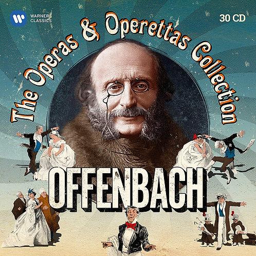 Offenbach Coffret integrale Opéras et Opérettes collection