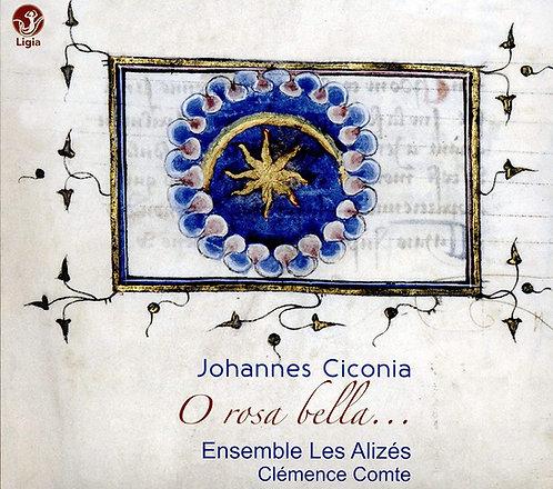 Ciconia O Rosa Bella Ensemble les Alizés Clémence Comte