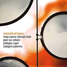 CLARINETTI ALL'opera Imep Namur clarinet choir Jean-Luc Votano