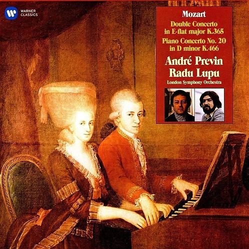 Andre Previn Radu Lupu Mozart Vinyle