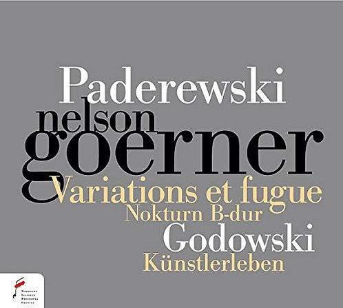 Paderewski Variations et Fugue Godowski Künstlereben Nelson Goerner Piano