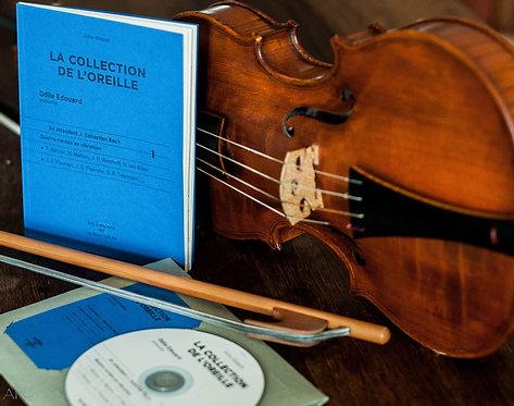 Récital violon solo d'Odile Edouard En attendant JS Bach