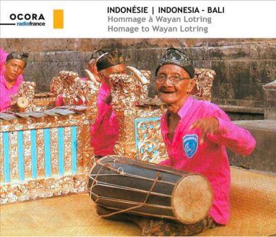 Indonésie Hommage à Wayan Lotring