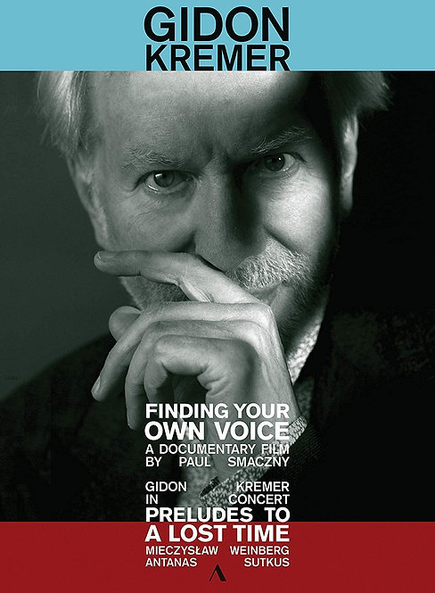 Gidon Kremer Documentaire Finding your Voice DVD