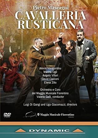 Mascagni Cavaliera Rusticana Valerio Galli DVd