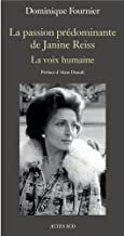 La Passion Dominante de Janine Reiss Dominique Fournier