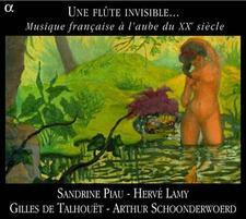 DEBUSSY/CAPLET/ROUSSEL Une Flûte invisible Sandrine Piau-Hervé Lamy