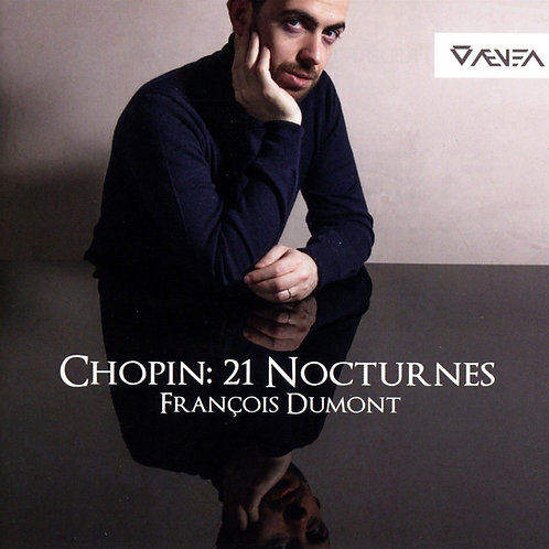 Chopin 21 Nocturnes François Dumont Piano Double CD