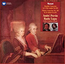 Radu Lupu & André Prévin Mozart