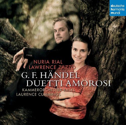 Handel Duetti Amorosi Nuria Rial Lawrence Zazzo