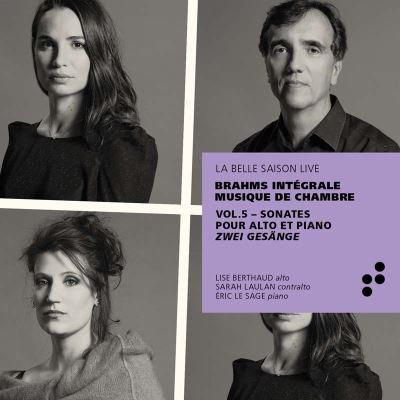 Brahms intégrale Musique de Chambre Vol5 Sonates Alto/Piano