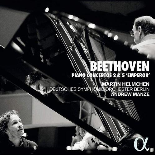 "Beethoven Piano Concertos N°2 & 5 ""Emperor"" Martin Heimchen Deutsches Symphonie"