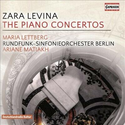 Zara Levina The Piano Concertos Maria Lettberg Rundfunk-Sinfonieorchester Berlin