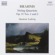 Brahms Quatuor Ludwig Op.51 N° 1 & 2