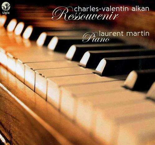 Charles-Valentin Alkan Ressouvenir Laurent Martin Piano