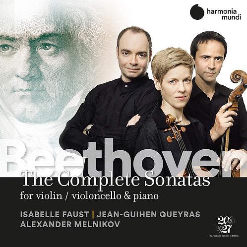 Isabelle Faust Jean-Quihen Queyras Alexandre Melnik BEETHOVEN THE COMPLETE Trios