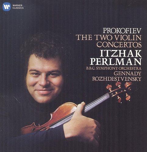 Itzhak Perlman Prokofiev concertos N°1 &2 BBC Symphony Orchestra