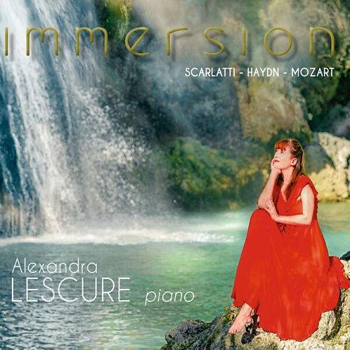 Alexandra Lescure Immersion Scarlatti, Haydn, Mozart Piano