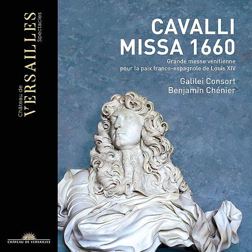 Cavalli Missa 1660 Benjamin Chénier Galilei Consort