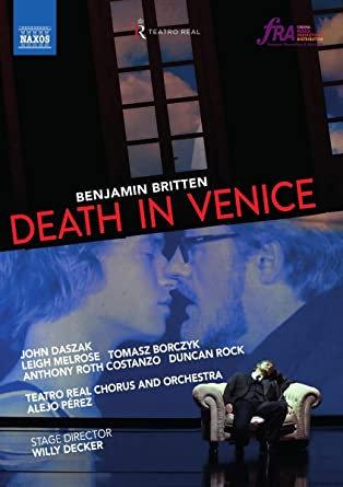 Benjamin Britten Mort à Venise Alejo Perez DVD