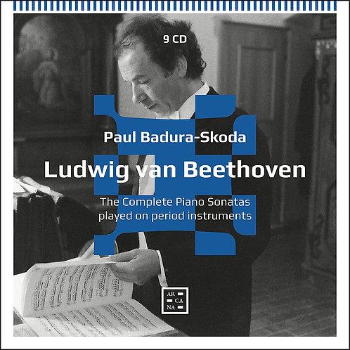 BEETHOVEN:complete piano sonates Paul Badura Skoda