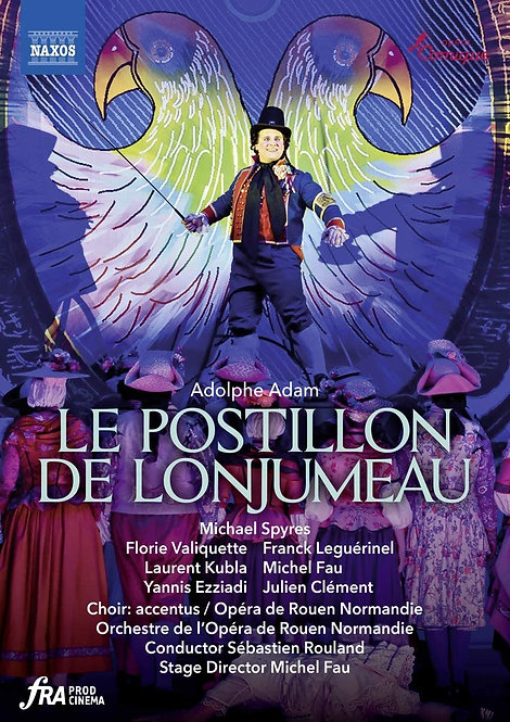 ADAM: Postillon de Logjumeau DVD