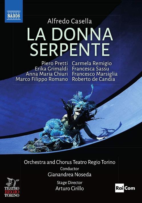 Alfredo Casella La Donna Serpente Gianandrea Noseda  DVD