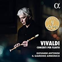 VIVALDI: Concertos pour flûte Giovanni Antonini