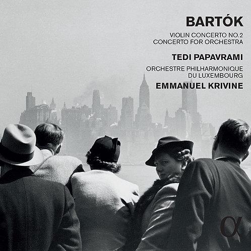 Concerto pour violon N°2 Bartok Tedi Papavrami-Emmanuel Krivine