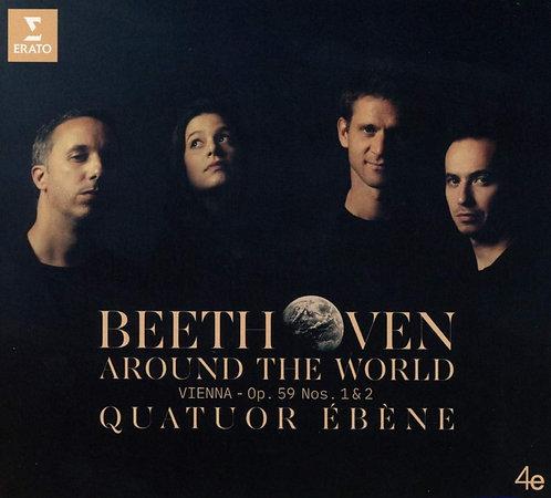 Beethoven Around the World Quatuor Ebène